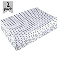 Premium Organic Changing Pad Cover For Baby Boys & Girls By Ana Baby –SOFT 10...