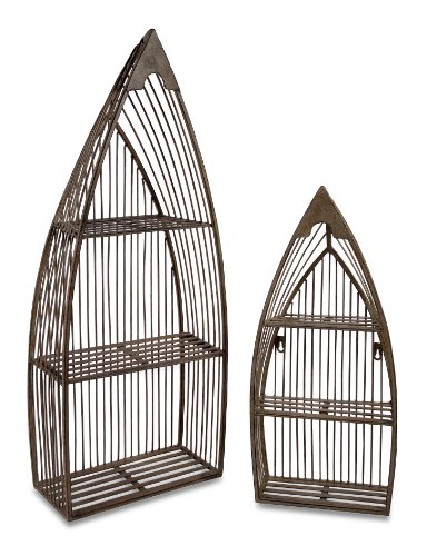 IMAX Nesting Boat Shelves, Set of 2 by Imax