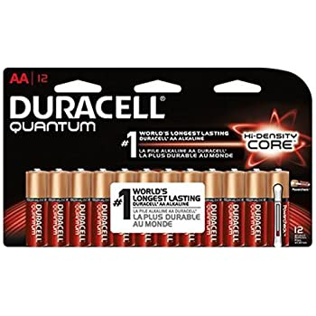 Amazon.com: Duracell Quantum Alkaline AA Batteries 28