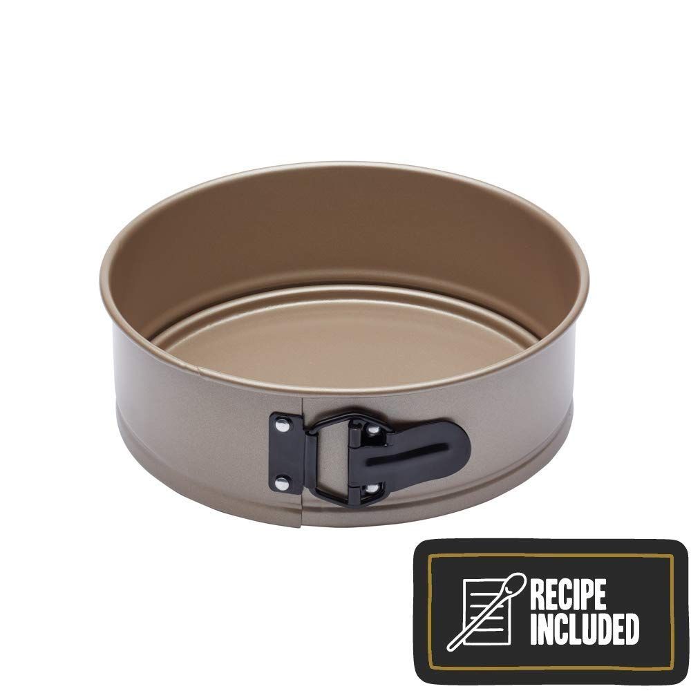 Paul Hollywood By Kitchencraft Non-stick Springform Cake Tin With Loose Base,