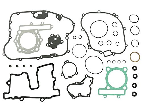 Outlaw Racing OR3591 Complete Full Engine Gasket Set Kawasaki KSF250 1987-2004 Kit Outlaw Racing Products