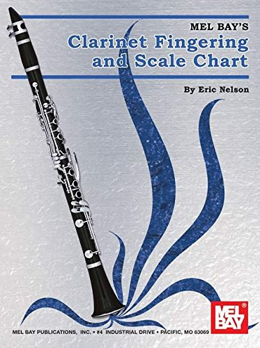 Mel Bay Clarinet Fingering & Scale Chart