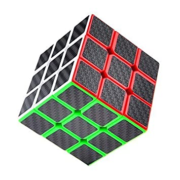 Speed Cube Carbon Fiber Sticker for Smooth Magic Cube Puzzles US