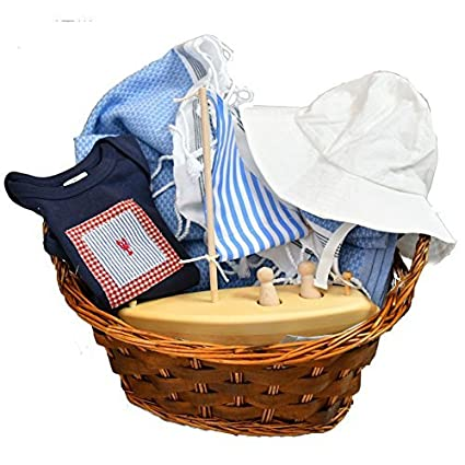 Buy Nautical Theme Baby Shower Gift Ideas Beach Baby Gift Basket 3