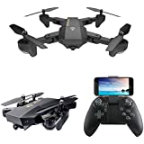 Beyondsky VISUO XS809HW Quadcopter Drone Altitude Hold Function Foldable Wifi FPV 2.4G 4CH 6 Axis with 720P HD 2MP 120° Wide Angle Camera