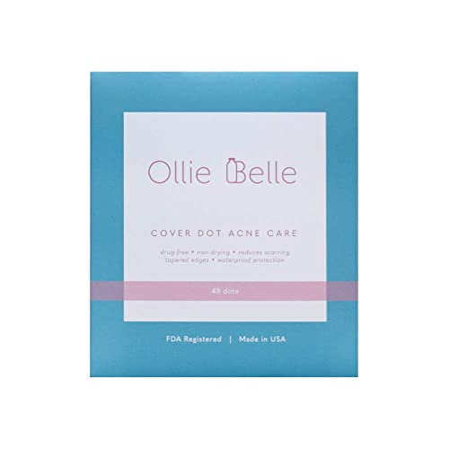 [NEW PACKAGING] Cover Dot Acne Care - Hydrocolloid Waterproof Clear Pimple Absorbing Acne Patch- 48 dots