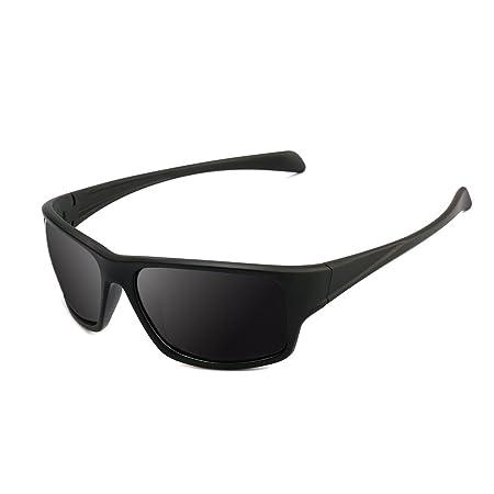 Sport Sonnenbrille, Polarisierte Sonnenbrille für Damen Herren TR 90 Frauen-Rahmen für das Radfahren-Baseball-Laufen fährt
