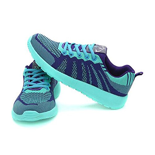 snfgoij Sports Lightweight Shoes Casual Girls Shoes Hiking Shoes Ladies Lightblue Shoes Shoes Walking Running FwqrFC