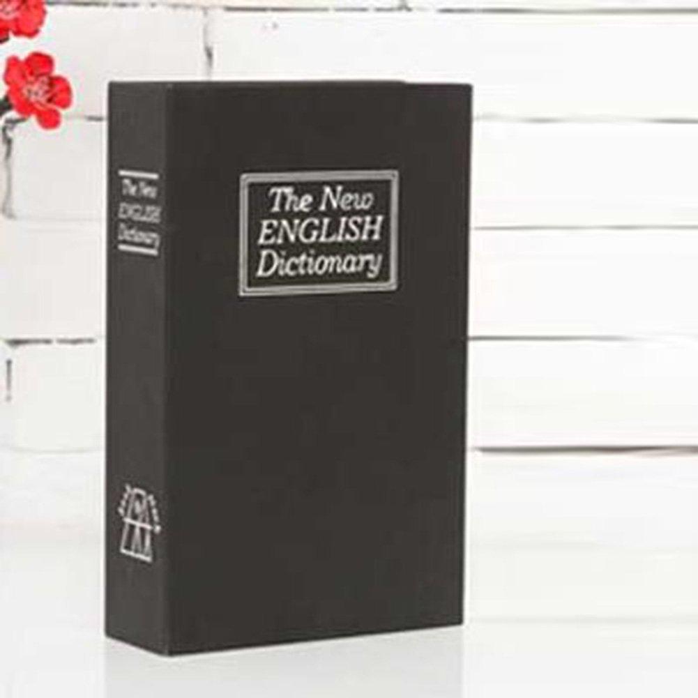 Studyset Safe Money Box Home Security Key Lock Home Decoration Fashion Creative Dictionary Secret Book Small