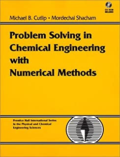 Amazon com: Problem Solving in Chemical and Biochemical Engineering