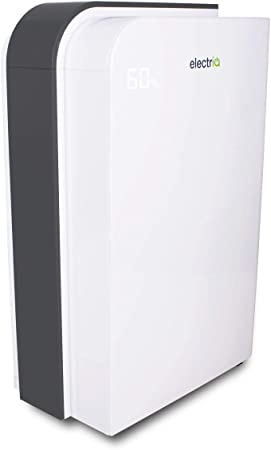 electriq 10L Fast Dry Desiccant Dehumidifier and Heater with HEPA Air Purifier for 2 6 Bed Homes