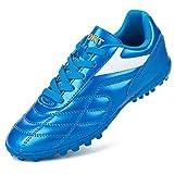 Barerun Unisex Soccer Shoe for Runing Football Sport Shoes Blue 4.5 (B) M US