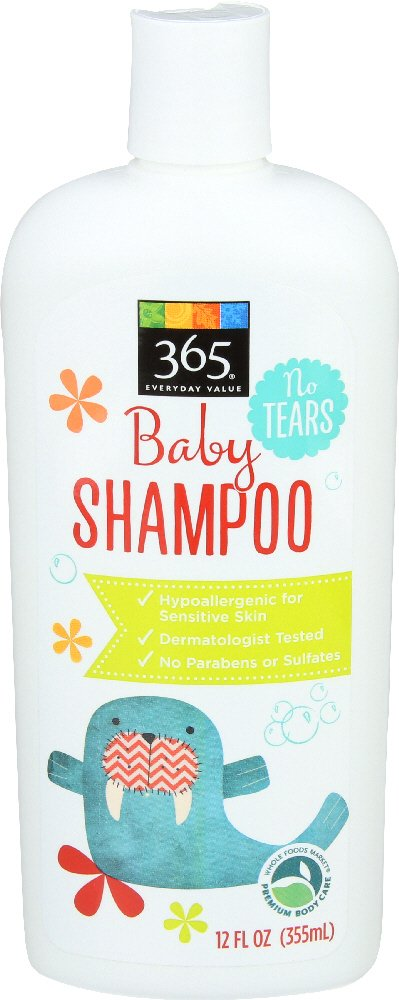 365 Everyday Value Baby Shampoo, 355 ml Whole Foods Market