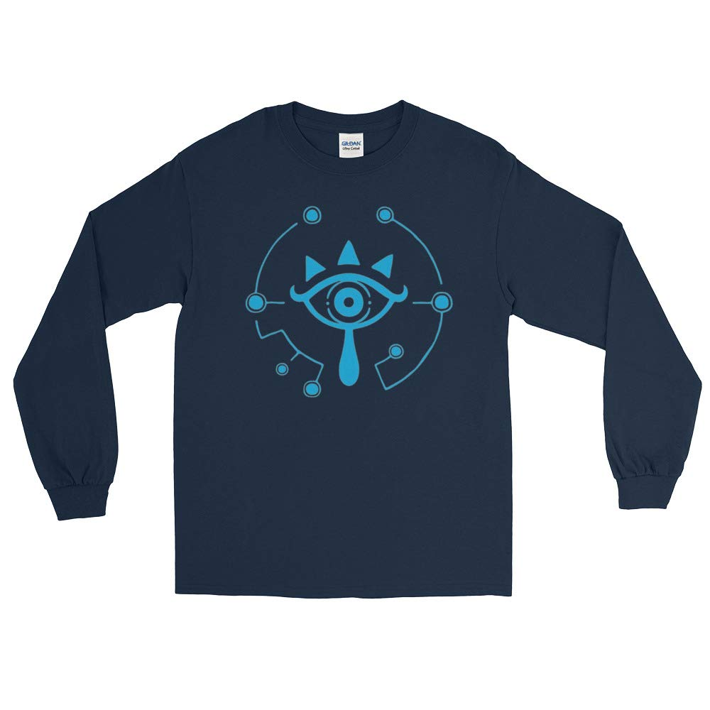 Santafe Fuco Sheikah Slate Eye Symbol Legend of Zelda Long Sleeve