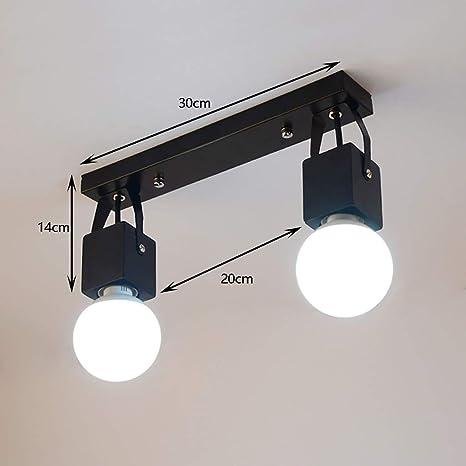 GZ Muebles para el hogar Lámpara de Pared nórdica Arte Luz Led ...
