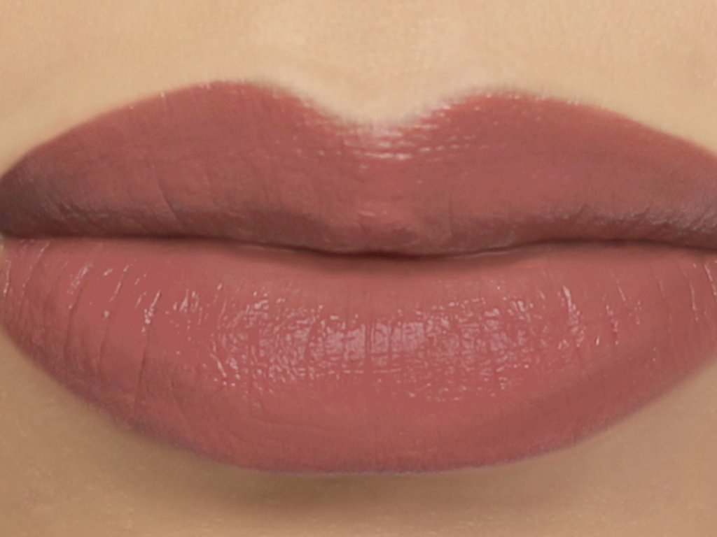 Matte Vegan Lipstick in shade''Dryad'' - rosy brown nude