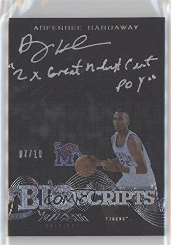 Anfernee Hardaway  7 10  Basketball Card  2013 14 Upper Deck Black   Bio Scripts  Bio Ah