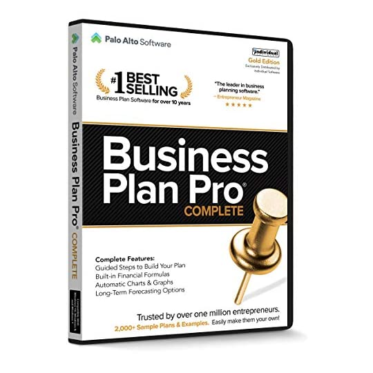 Business Plan Pro Complete – Gold Edition