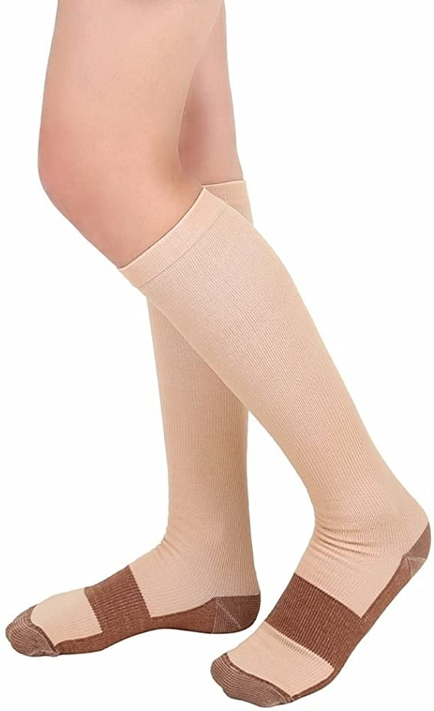 1 Pair Athletic Medical Use for Men Women MojaSports Graduated Compression Socks