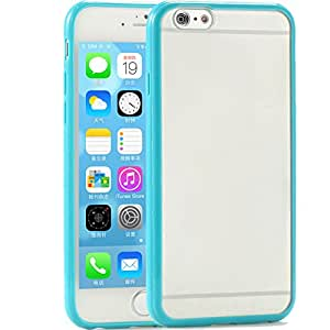 Newest! Slim Thin Colorful Transparent Clear Matte Case For iphone 6 4.7 inch Phone Back TPU+PC Hard Cover RCD04169 --- Color:black