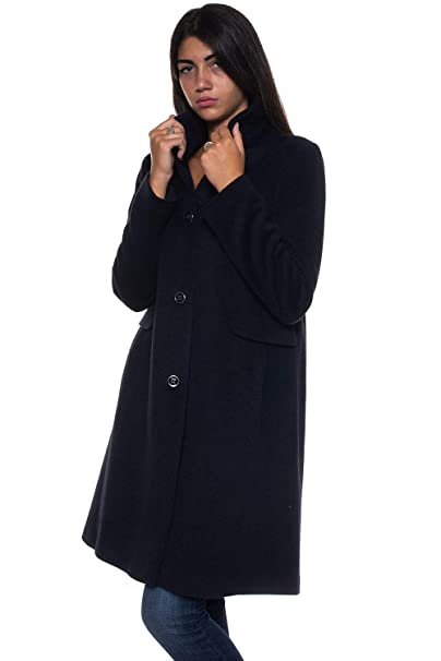 Emporio Armani - Abrigo - para Mujer Turquesa 40
