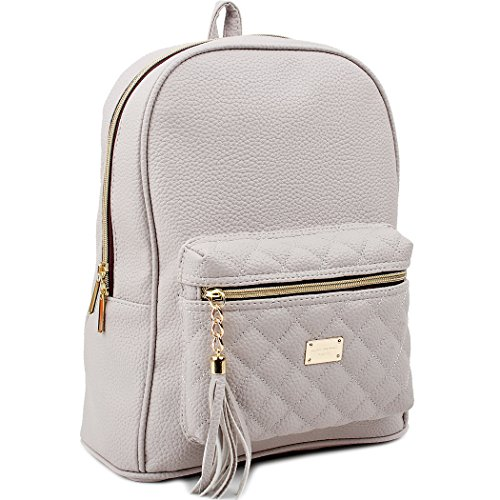 Women Casual Sports Backpack(Gray) - 6
