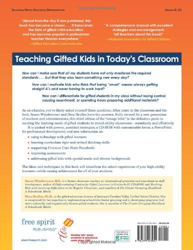 Amazon.com: Teaching Gifted Kids in Today's Classroom: Strategies ...