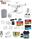 #4: DJI Phantom 4 Quadcopter Drone with 4K Video EVERYTHING YOU NEED KIT + SanDisk 32GB Micro SDXC Card + Universal Card Reader 3.0 + Carry Strap System + Koozam Cleaning Cloth (With Military HardCase)