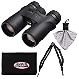 Nikon Monarch 7 10x42 ED ATB Waterproof/Fogproof Binoculars with Case + Easy Carry Harness + Cleaning Cloth