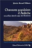 Image de Chansons populaires d'Ardèche : Recueillies dans le pays des Boutières