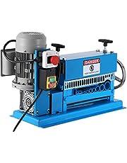 VEVOR Automatische stripmachine, 1,5-38 mm, 370 W, type stripkabel van metaal met 10 elektrische kabelsnijders met lemmeten 15 m/min.