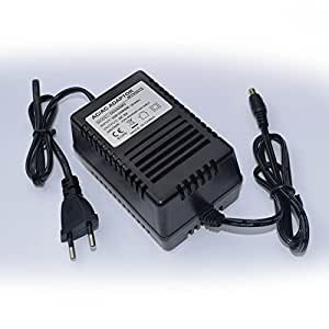 Cargador 9V compatible con Procesador de Efectos Alesis Microverb 2 (Fuente de alimentación) - enchufe español