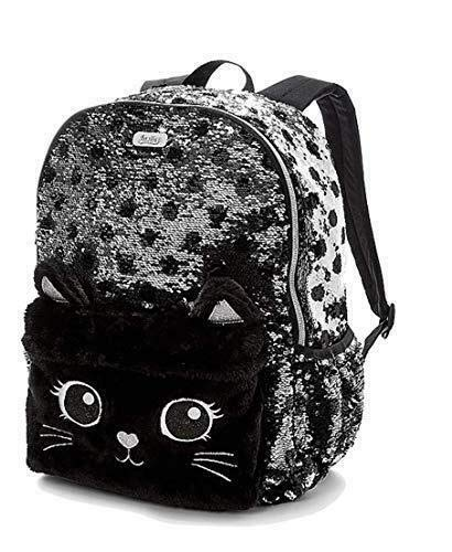 Justice Kitty Cat Collection (Flip Sequin Small Mini Backpack)]()