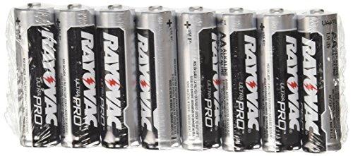 012800000432 - Rayovac Ultra Pro Batteries, Size AA, 8-Pack carousel main 1
