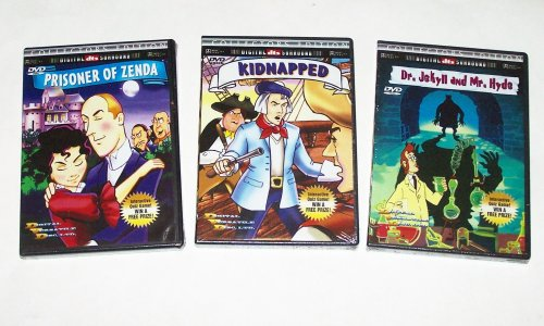 Classic Animation Collection #02 (3pk): Kidnapped; Dr. Jeckle and Mr. Hyde; Prisoner of Zenda (The Prisoner Of Zenda Inc compare prices)