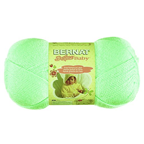 - Spinrite Bernat Softee Baby Yarn: Solids, Mint