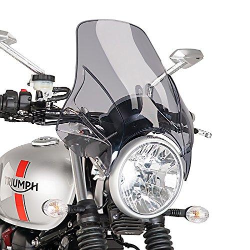 Windschild Moto Guzzi V7 Stone 13-14 Puig Plus rauchgrau