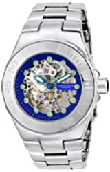 ANDROID Men's AD706ABU Hercules Analog Automatic-Self-Wind Silver Watch
