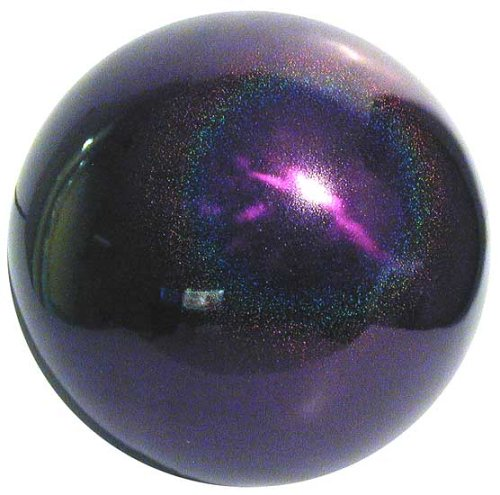 VCS PSD12 Mirror Ball 12 inch Purple Stardust Stainless Steel Gazing Globe