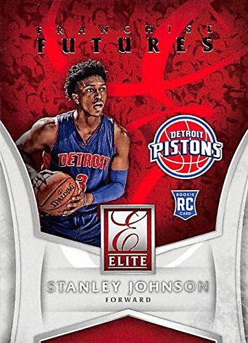 - Stanley Johnson basketball card (Detroit Pistons, Arizona) 2016 Panini Donruss Elite Franchise Futures #8 Rookie