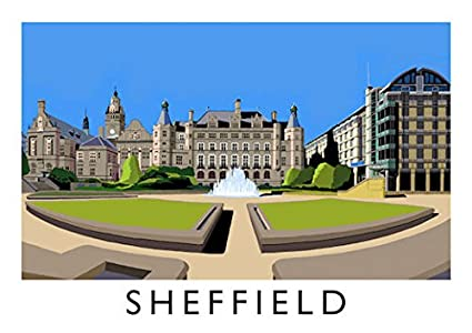 Sheffield Yorkshire toalla de té – Richard o Neill