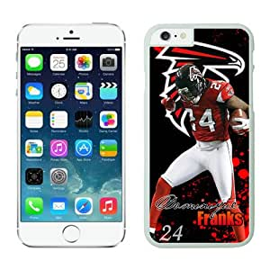 NFL Atlanta Falcons Dominique Franks iPhone 6 Plus Case White 5.5 Inches NFLIphone6PlusCases13643