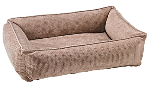 Bowsers Urban Lounger Dog Bed, Large, Cappuccino Treats