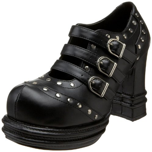 Demonia by Pleaser Women's Vampire-08 Pump,Black Polyurethane,9 M US