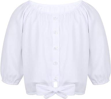 Camisa blanca niña