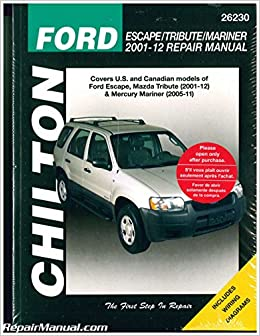 chilton service manual download for ford escape hybrid 2008