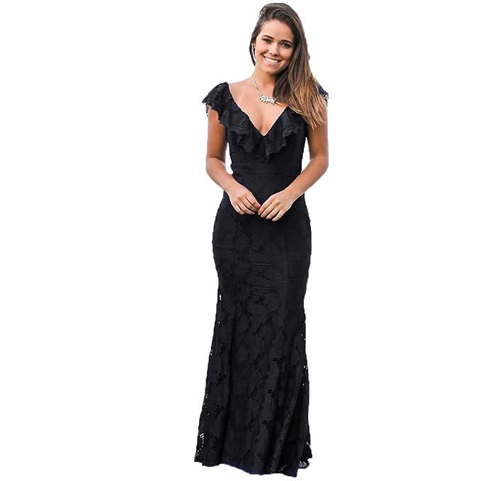 Bridal_Mall - Vestido de novia - Sin mangas - Mujer negro L