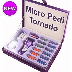 Emjoi® Rechargeable Micro-Pedi Tornado Professional Kit