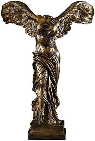 LOSAYM Estatuas para Jardín Esculturas Y Estatuas De Jardín Victoria Europea Diosa Escultura Resina Artesanía Decoración del Hogar Retro Abstracto Diosa Estatuas Adornos Regalos De Empresa: Amazon.es: Hogar