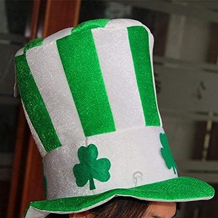 LEEQ Sombrero de Fiesta del día de San Patricio, Sombrero irlandés ...